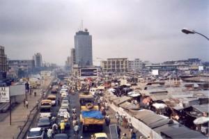 Cotonou : Dantokpa, vue ouest