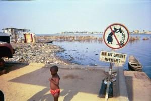 Cotonou : remblais ordures